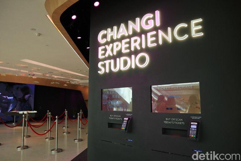 Inilah Changi Experience Studio, wahana yang mengajak traveler mengenal Bandara Changi dengan permainan interaktif dan visual cantik (Johanes Randy/detikcom)