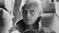 Rutger Hauer dikenal sebagai Roy Batty dalam film Blade Runner bersama Harrison Ford.Dok. Ist