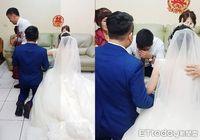Momen haru ayah yang menangis dan tak rela membiarkan putrinya pergi saat menikah