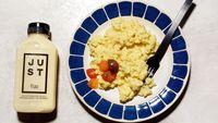 Nyamm! 'Telur' dari Kacang Hijau Ini Bisa Jadi Menu Sarapan Sehat