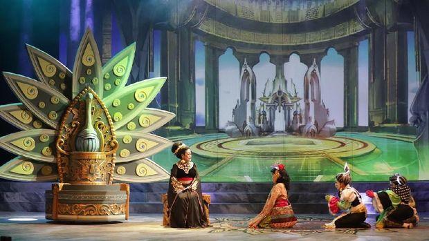 Teknologi Berbalut Kemegahan Artistik di Pentas Teater Koma 'Mahabarata 2'