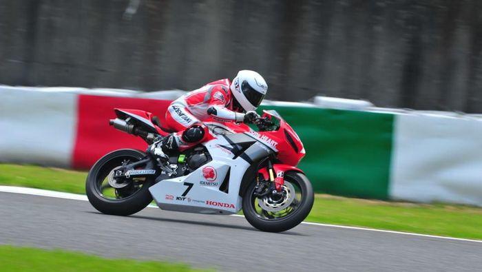 Pebalap Astra Honda Racing Team di kualifikasi Suzuka 4 Hours Endurance. (Foto: dok.Istimewa)