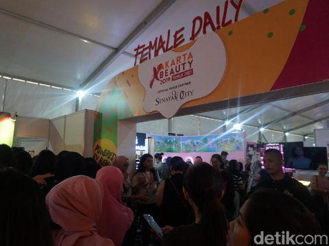 Beauty Enthusiast menyerbu Jakarta X Beauty 2019 di Senayan City.