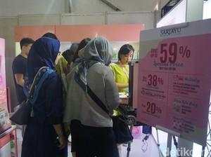 Serbu Diskon Makeup Besar-besaran Hingga 70% di Jakarta x Beauty 2019