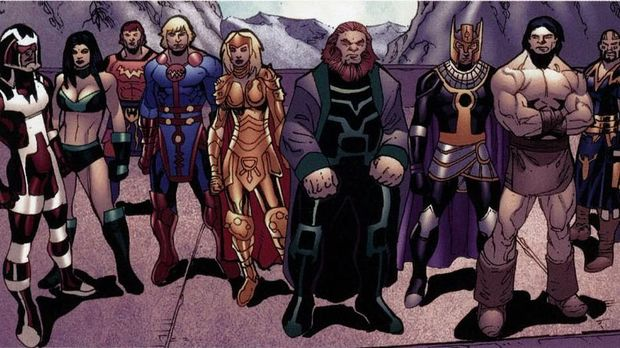 Mengenal 'The Eternals', Mitos Manusia Abadi di Marvel
