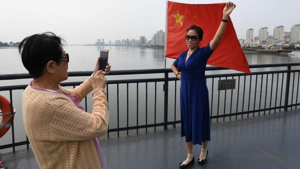 Kota di China yang Face To Face Dengan Korea Utara