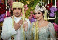 Tania Nadira dan Abdullah Alwi menikah.