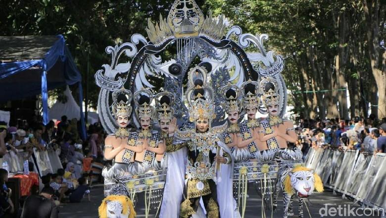 Foto: Banyuwangi Ethno Carnival (Ardian Fanani/detikcom)