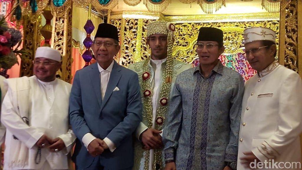 Sandiaga Uno Jadi Saksi Pernikahan Mantan Istri Tommy Kurniawan