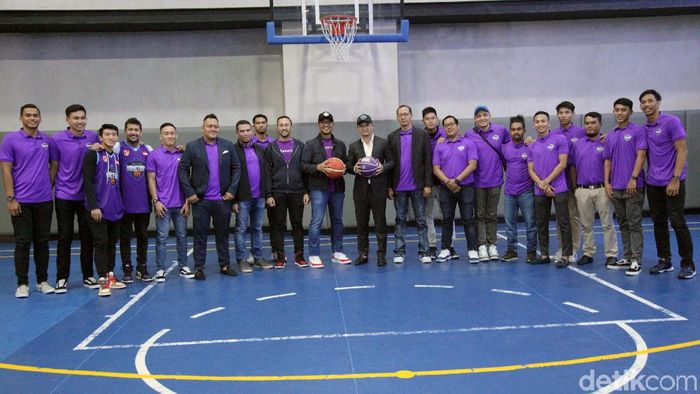 Hangtuah Jakarta dapat sponsor baru jelang IBL 2019/2020 (Lamhot Aritonang/detikSport)