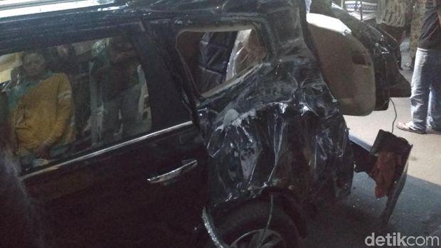 Kecelakaan kereta api bandara di Medan.