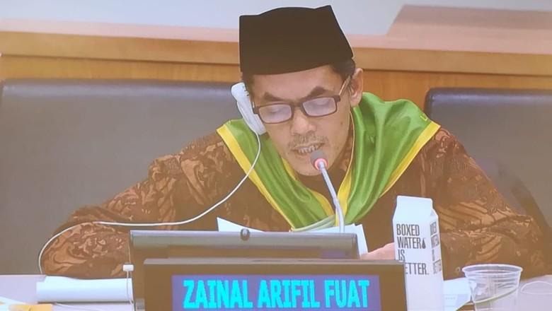 Ketika Petani Asal Madiun Jadi Pembicara di Markas PBB New York