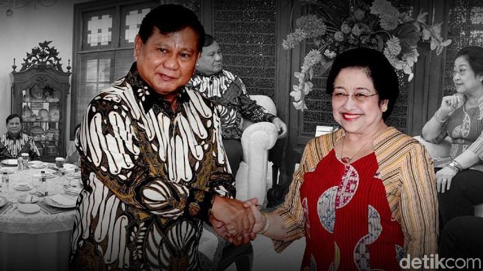 Ilustrasi Prabowo-Megawati
