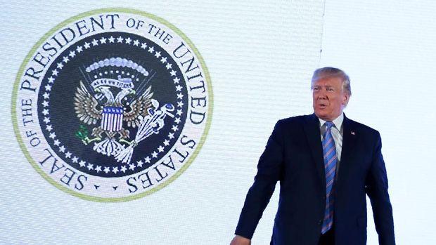 Presiden AS Donald Trump mengaku tak senang dengan uji senjata terbaru Korut.