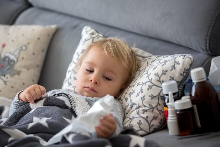 Obat Alami Penurun Panas Anak. Foto: iStock