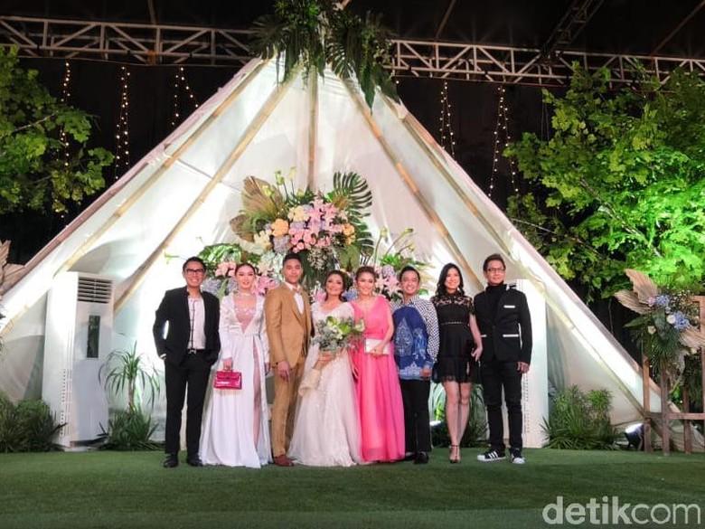 Foto: Resepsi Siti Badriah / Dyah P Saraswati