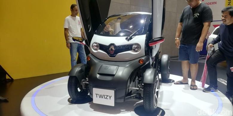 Renault Twizy Foto: Rizki Pratama/detikOto