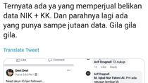 Viral Jual Beli Data e-KTP dan KK Warga Ditelusuri Polisi