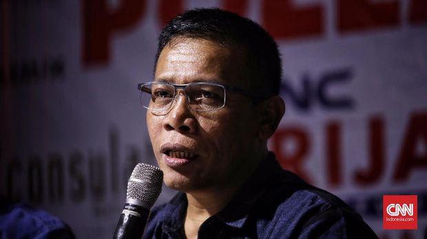 Anggota Komisi III DPR dari Fraksi PDIP Masinton Pasaribu membenarkan pengusul revisi UU KPK datang dari lima parpol pengusung Jokowi-Ma;ruf Amin.