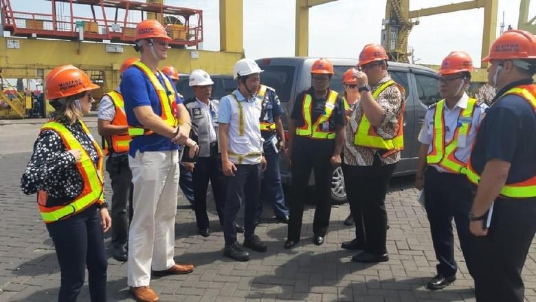 Amerika dan Inggris Puji Fasilitas Keamanan 2 Pelabuhan RI