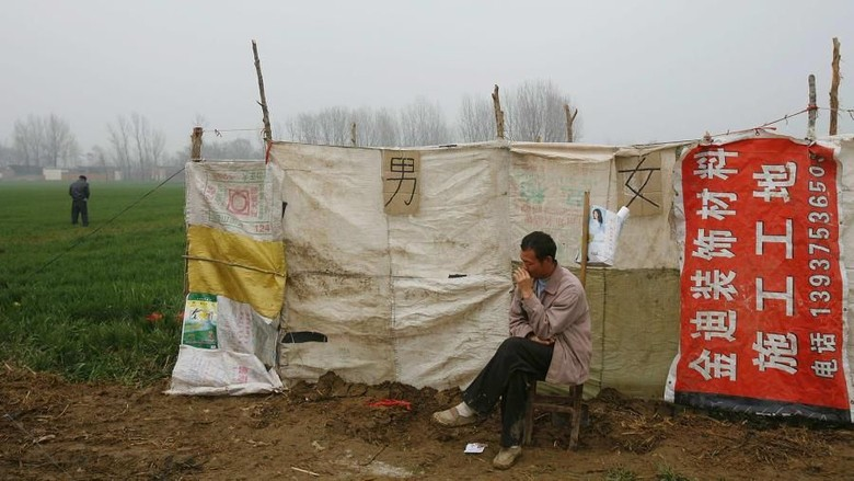 Toilet-toilet di China yang dulu kotor, kini pelan-pelan bersih (CNN Travel)