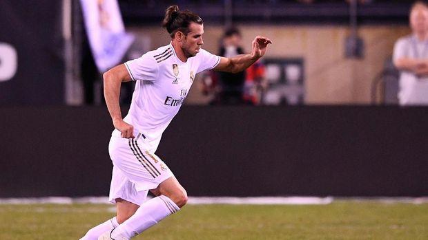 Gareth Bale dimainkan pada menit ke-61 menggantikan Marcelo. (