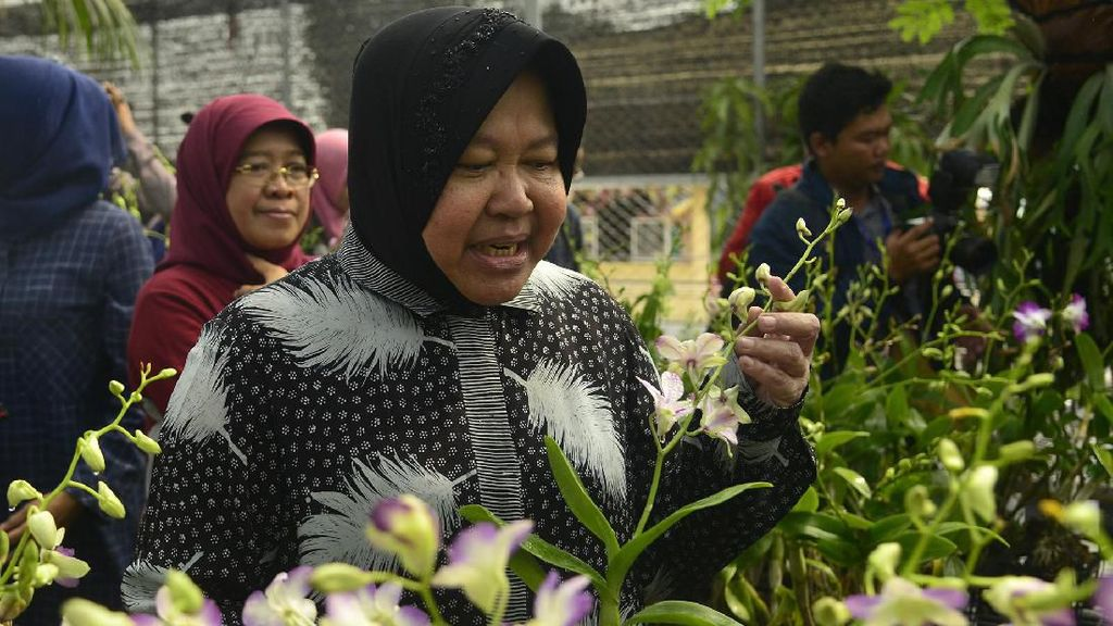 Anggaran Lebih Kecil Dari DKI, Risma Pamer Capaian Surabaya