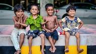 Potret Keceriaan Anak-anak di Seluruh Dunia