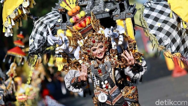 Banyuwangi Ethno Carnival 2019 (Ardian Fanani/detikcom)