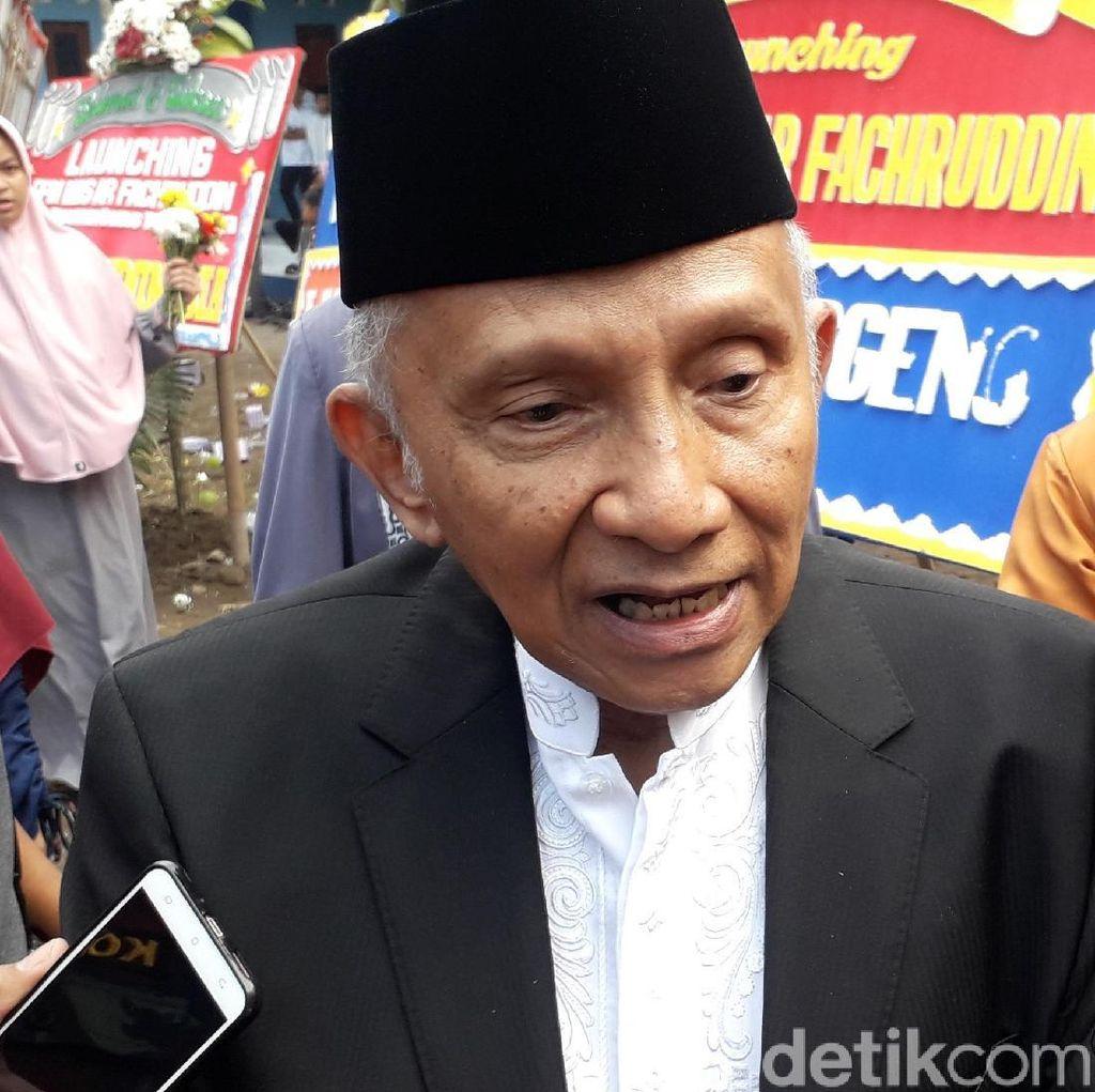 Zulkifli Dukung Jokowi, Amien Rais Menolak Menteri