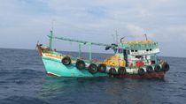 KKP Tangkap Enam Kapal Ikan Ilegal Asal Vietnam dan Filipina