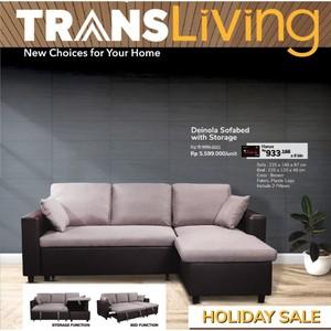 Tinggal 3 Hari Lagi! Inilah Promo Holiday Sale di Trans Living