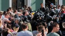 Aksi Demo Penolakan Presiden Seumur Hidup di Rusia