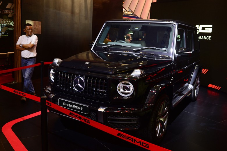 Mercedes-Benz AMG G63. Foto: Ari Saputra