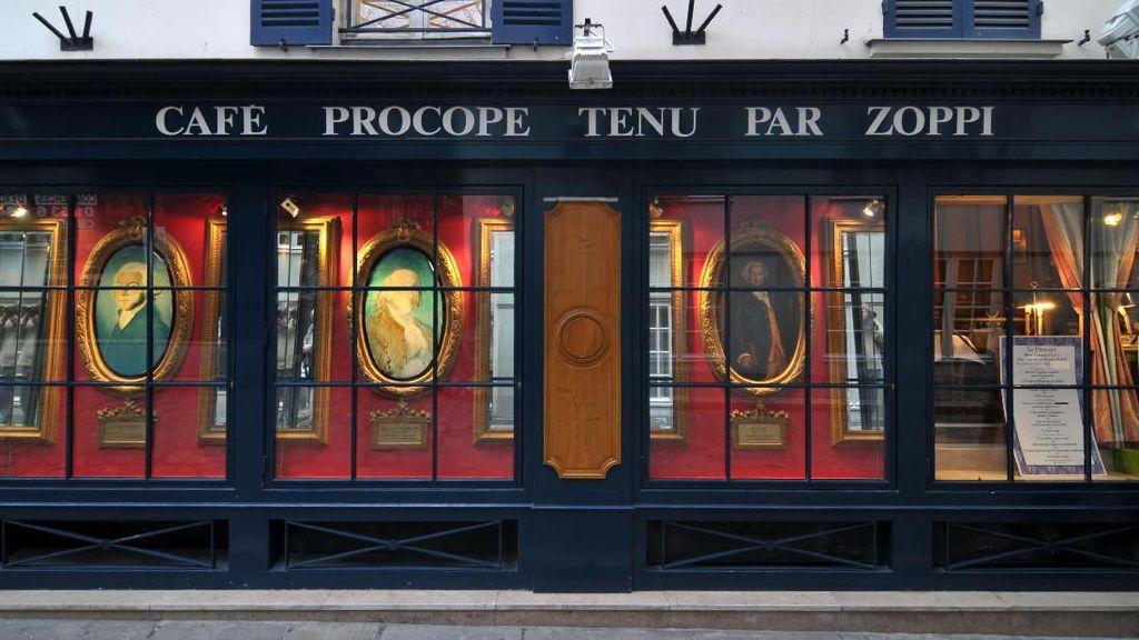 Klasiknya Le Procope, Kafe Paling Tua di Dunia yang Berusia 333 Tahun