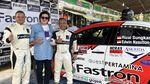 Rizal Sungkar Finis Ketiga di Kejurnas Rally Medan