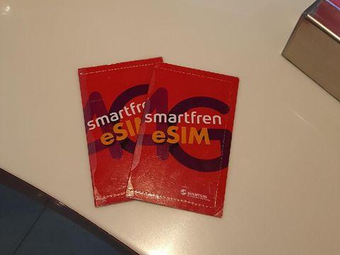Smartfren Jadi yang Pertama punya eSIM