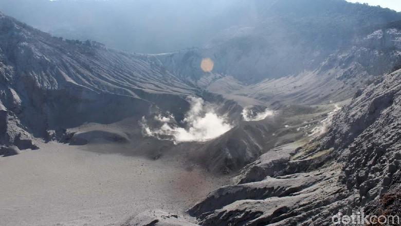 Gunung Tangkuban Perahu siap dibuka lagi (Yudha Maulana/detikcom)