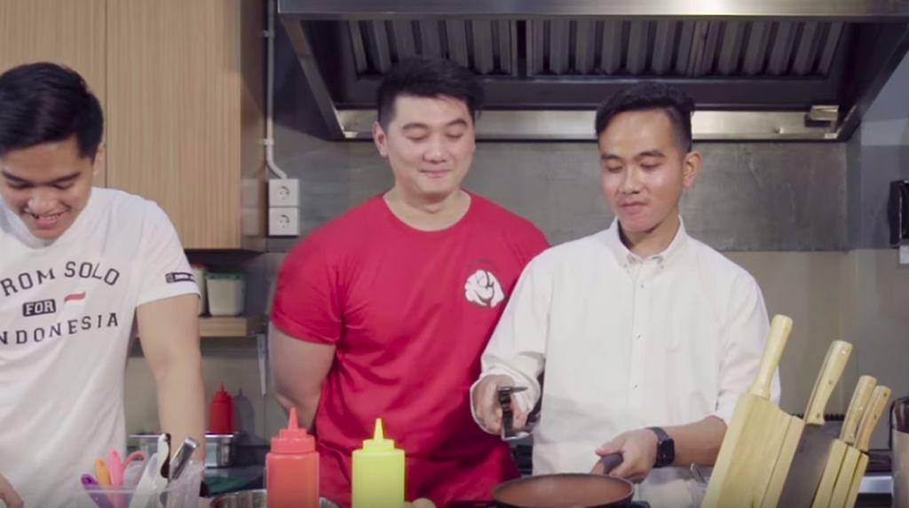 Chef Arnold-Kaesang-Gibran Beberkan Resep Telur Selimut Mangkok Ku