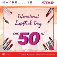 Hari Lipstik Internasional, 6 Brand & Situs Belanja Ini Diskon Hingga 70%