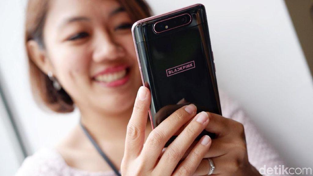 Lebih Dekat dengan Galaxy A80 BLACKPINK Harga Rp 15 Juta