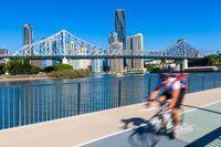 Jalur sepeda tersedia banyak di Brisbane (iStock)