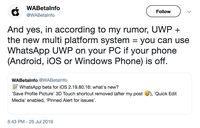 Kelak, Whatsapp Web Bisa Tetap Dipakai Meski HP Mati?