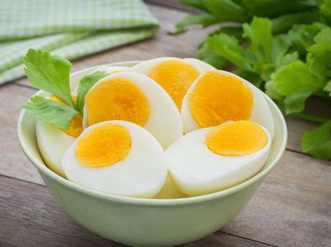 Manfaat sarapan telur.
