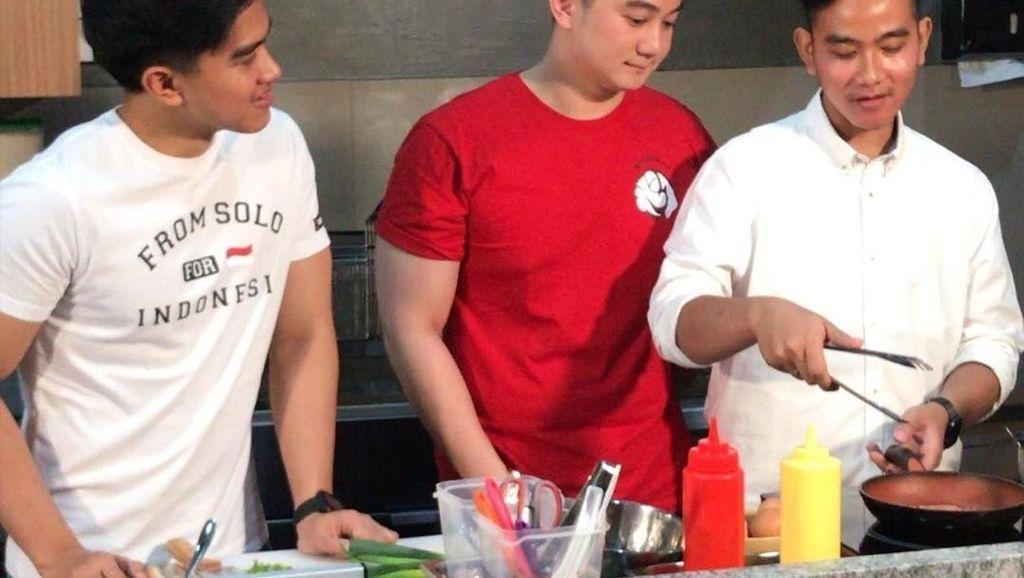 Kaesang Ngaku Disuruh Jokowi Lamar Kerja di Tempat Chef Arnold