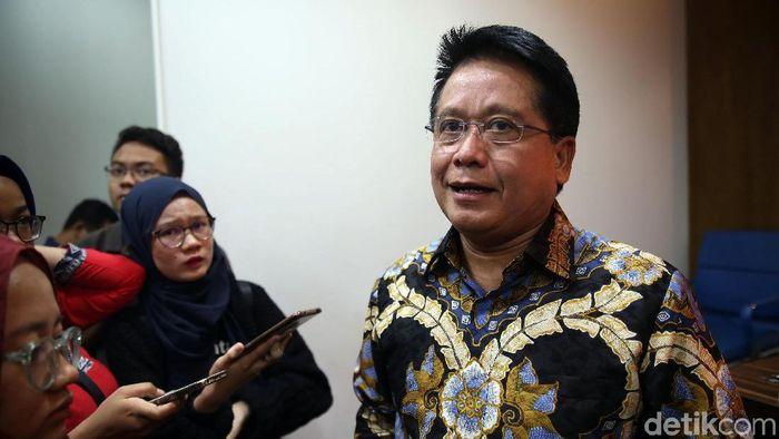Direktur Bisnis dan Jaringan Bank Mandiri Hery Gunadi/Foto: Agung Pambudhy