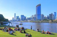Taman-taman di Brisbane, menyumbang udara bersih (iStock)