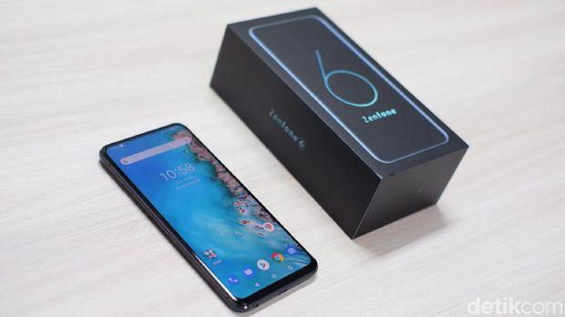 Zenfone 6 Sudah Kebagian Android 10