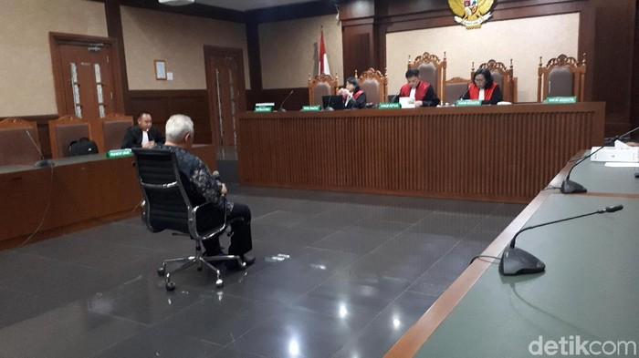 Erwin Arief didakwa menyuap mantan anggota DPR Fayakhun Andriadi terkait proyek di Bakamla (Foto: Faiq Hidayat/detikcom)