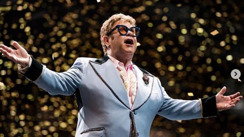 Elton John Foto: Dok. Instagram/eltonjohn